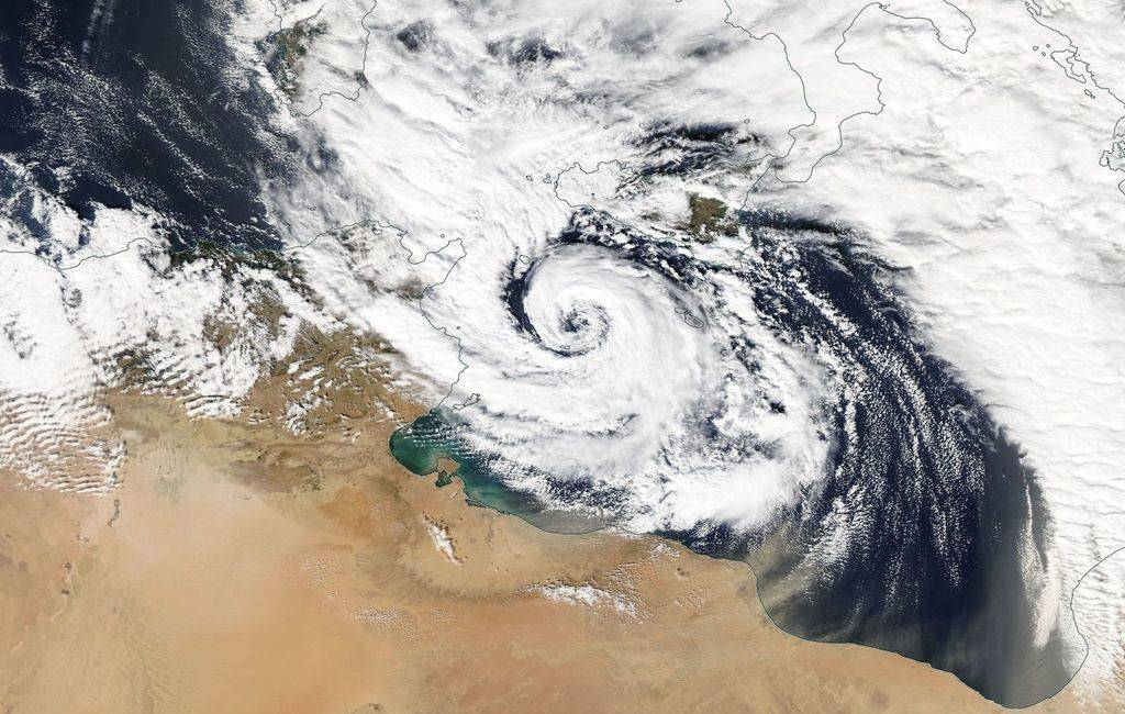 Krijgt de Middellandse Zeekust te maken met een orkaan achtige storm?