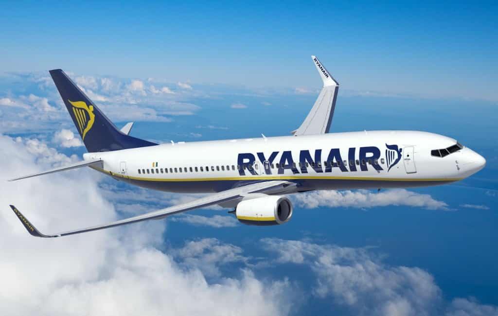Minder Ryanair vluchten naar Spanje in oktober vanwege dalende vraag