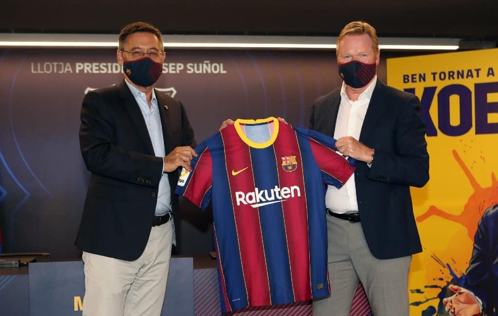 FC Barcelona voorzitter neemt ontslag