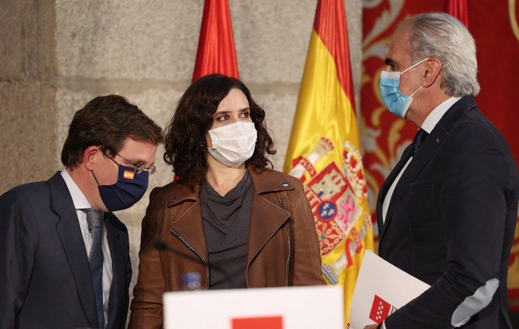 Madrid regio maakt foute corona-cijfers bekend om minder positieven te hebben