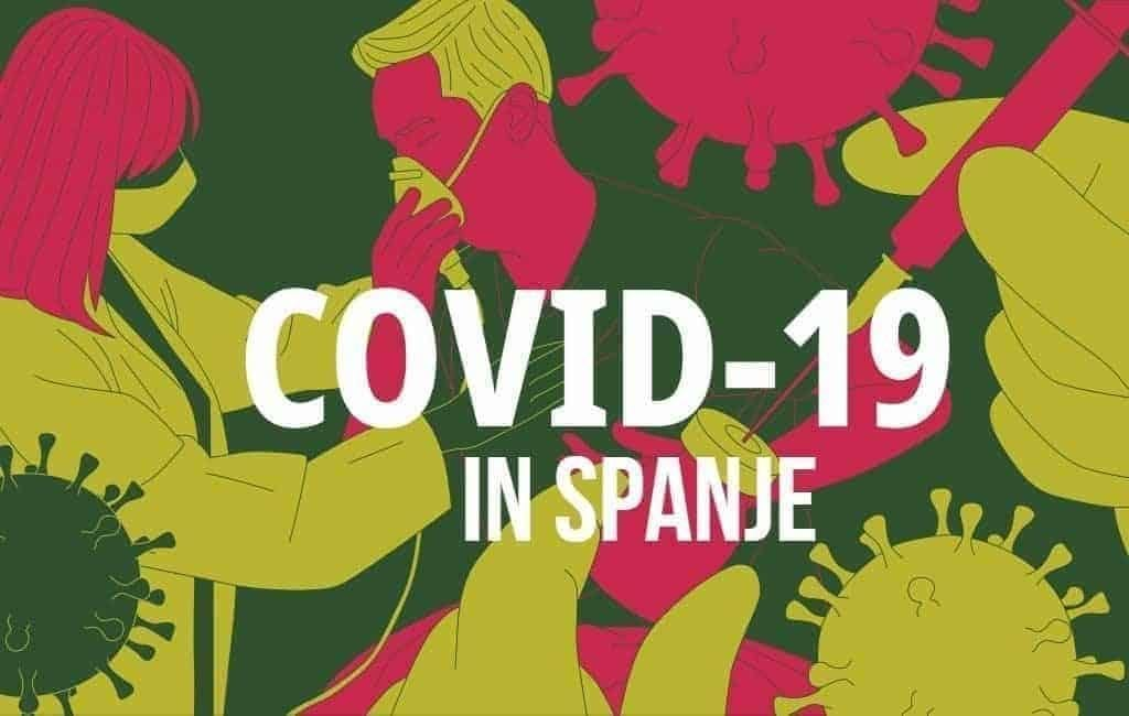 Corona-update Spanje: 11.970 positieven en 209 corona-doden in 24 uur tijd