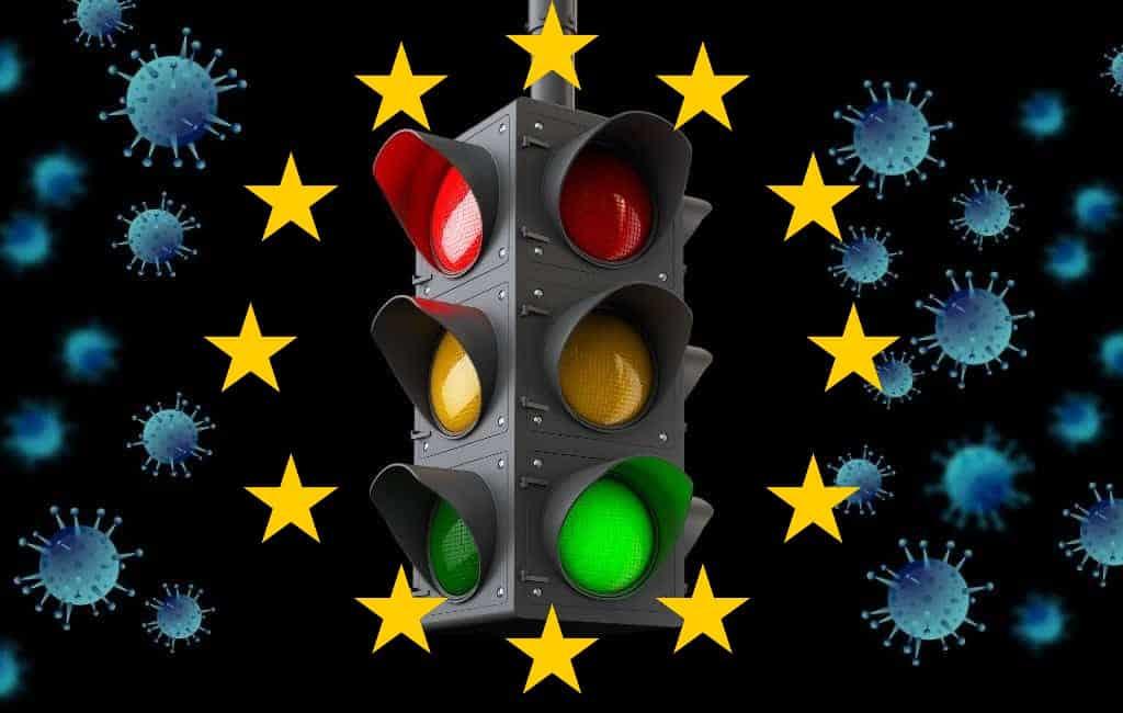 EU-lidstaten maken afspraken over corona-stoplicht met kleurcodes