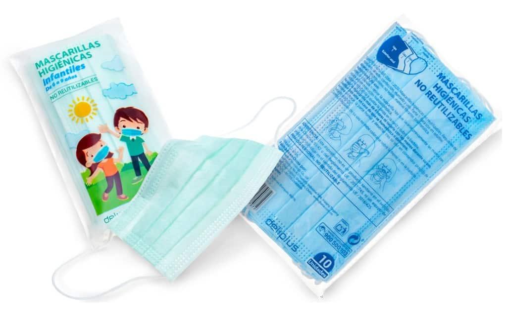 Mercadona verlaagt prijzen niet-herbruikbare hygiënische mondkapjes