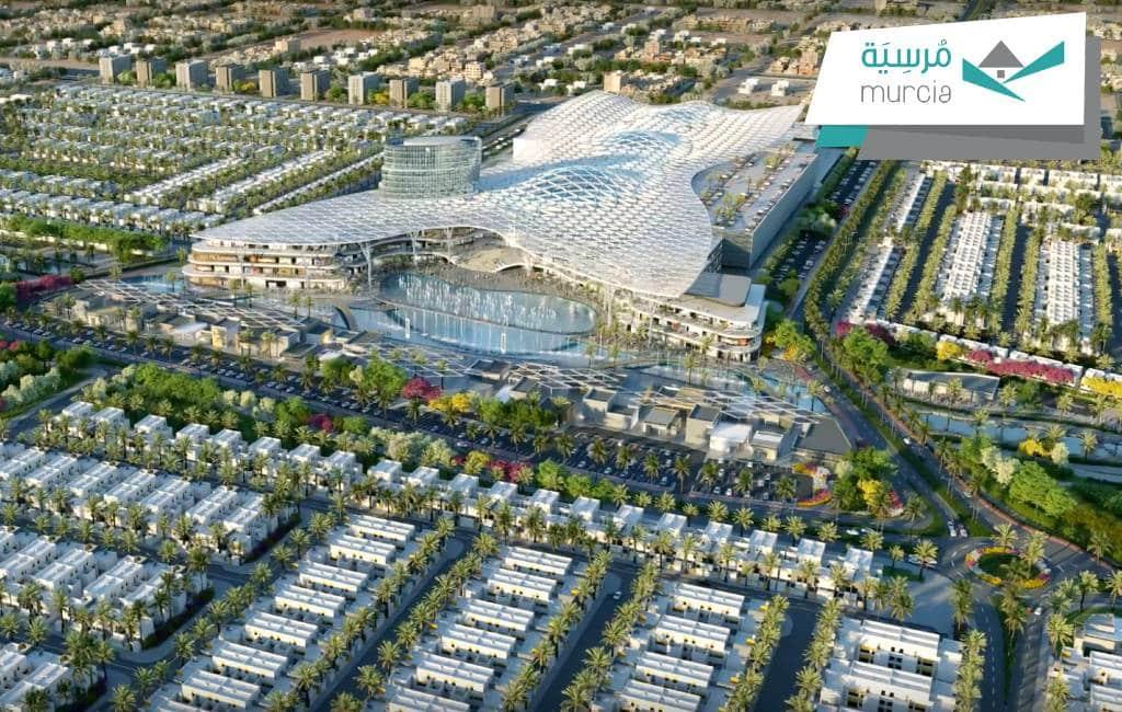 Saoedi-Arabië bouwt de stad Murcia na in de woestijn