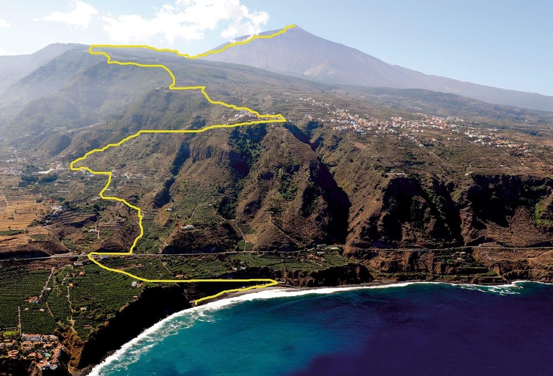 Wandelpad met grootste hoogteverschil in gebruik genomen op Tenerife
