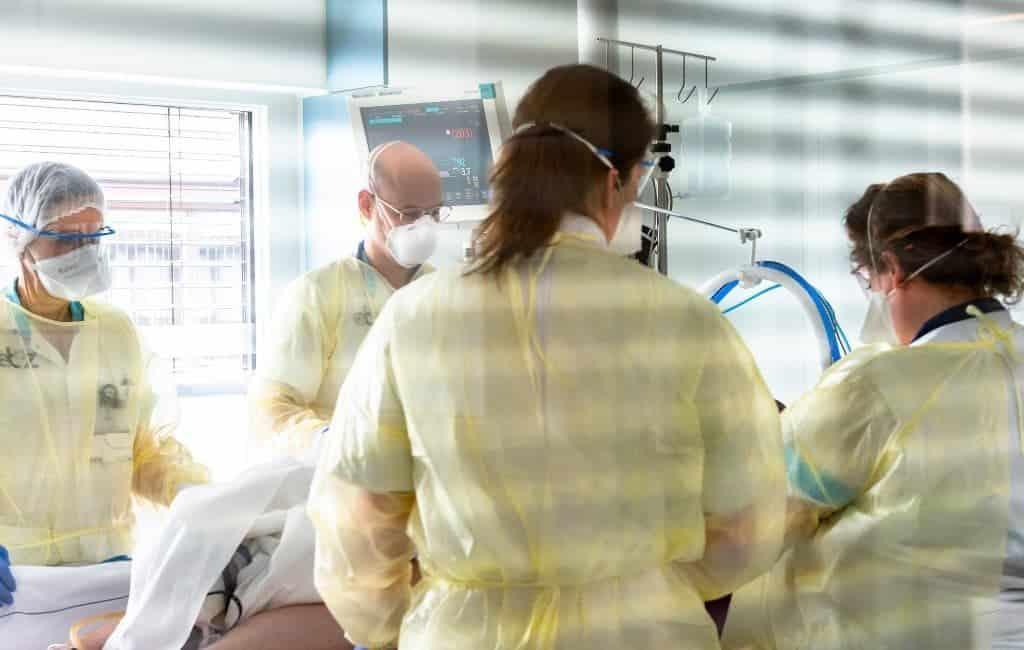 Ziekenhuiscapaciteit Spanje onder druk door covid-patiënten