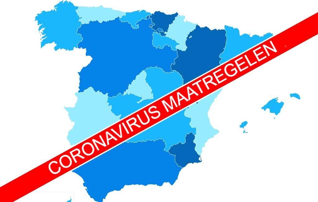 Overzicht van de corona-maatregelen per regio in Spanje