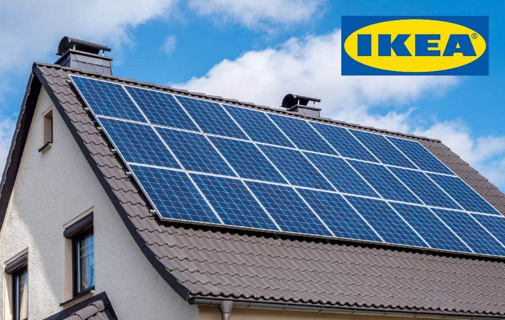 IKEA begint in 2021 met de verkoop van zonnepanelen in Spanje