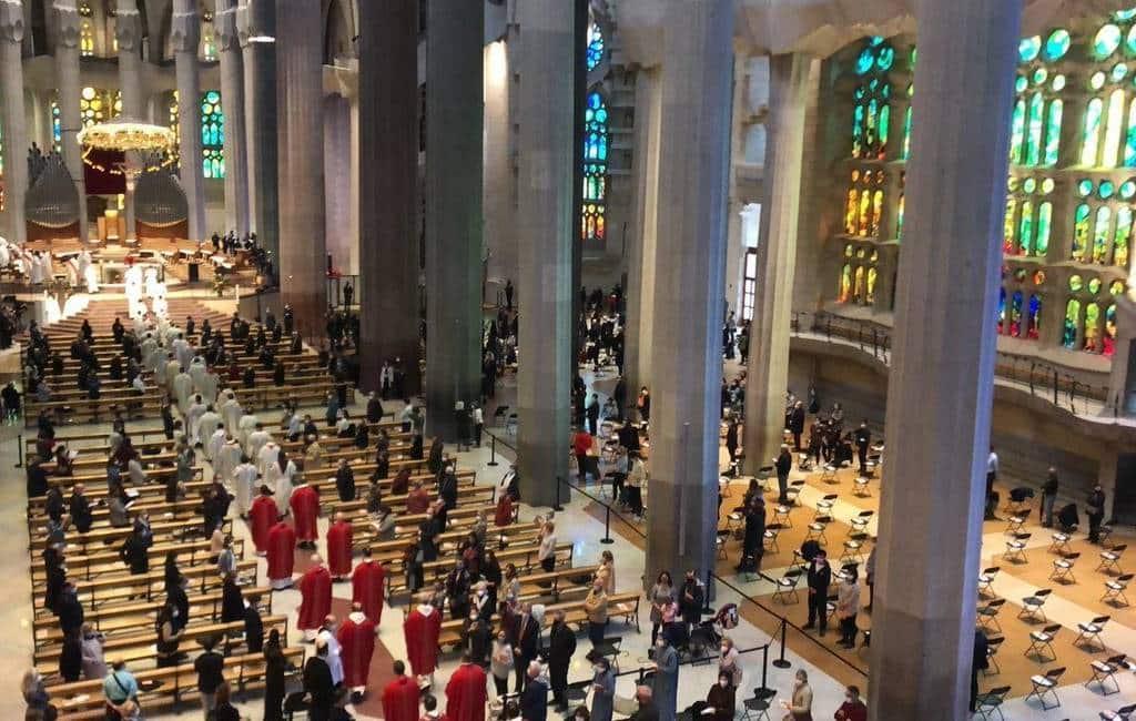 Onderzoek naar ceremonie in Sagrada Familia met 600 aanwezigen