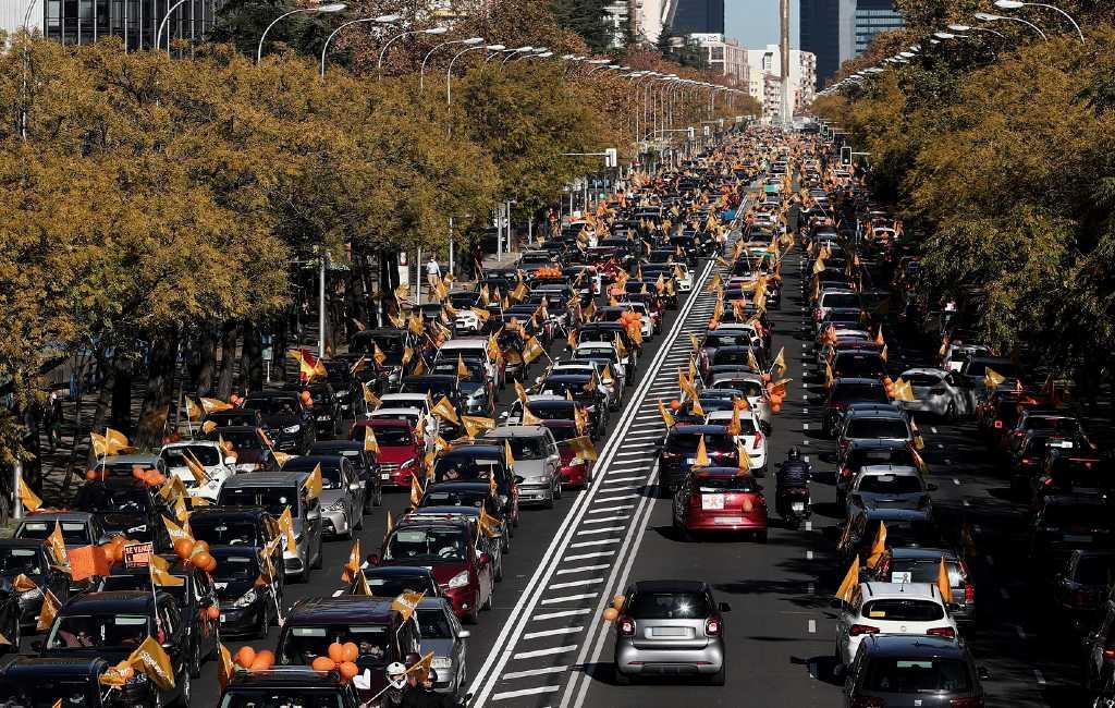 Demonstraties in tientallen Spaanse steden tegen nieuwe onderwijswet