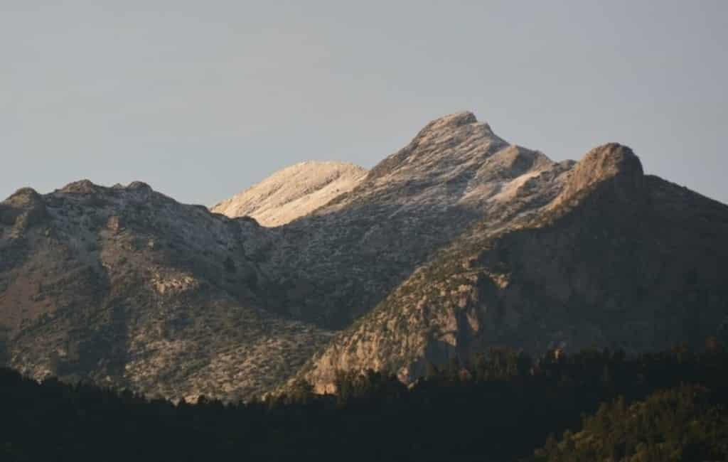 Eerste sneeuw op een van de hoogste punten in de provincie Málaga