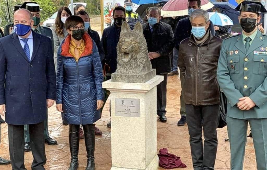 Politiehond Ajax die aanslag op Mallorca voorkwam geëerd in Antequera