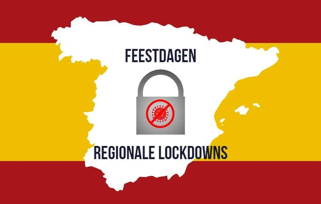 Diverse Spaanse regio's tijdens kerst-lockdowns alleen met document te bereiken