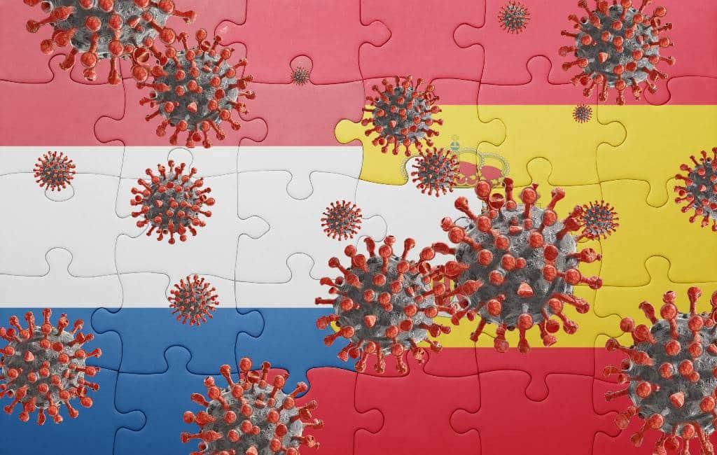 Voor het eerst meer corona-besmettingen in Nederland dan in Spanje