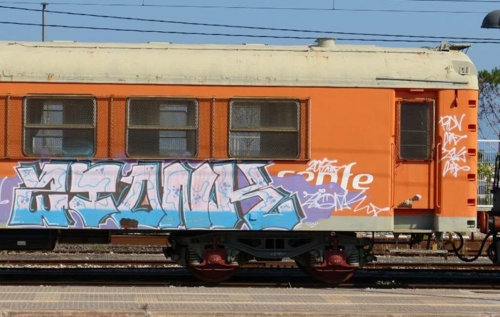 Belgische graffitikunstenaar voor vandalisme aangehouden in Málaga