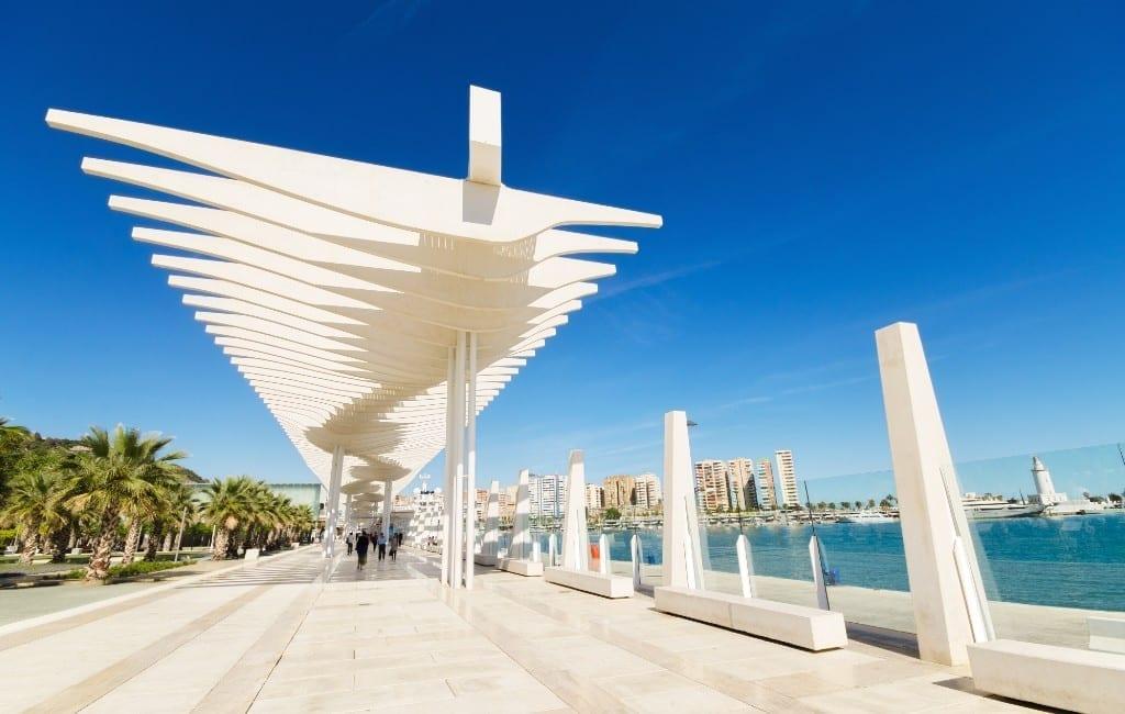 96,7% van de inwoners van Málaga is tevreden met de stad