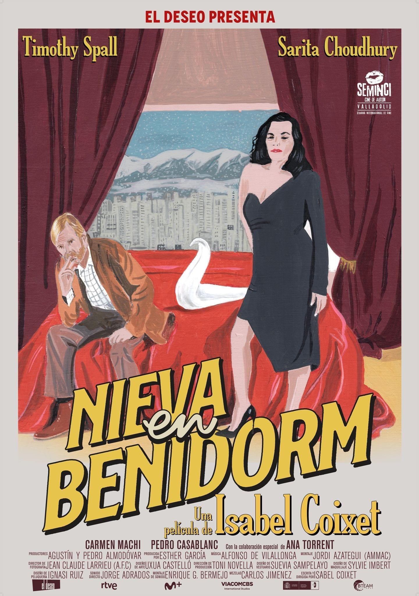 'Het sneeuwt in Benidorm' Spaans-internationale bioscoopfilm