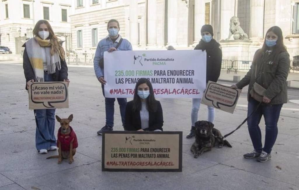 Spaanse Partij voor de Dieren wil strengere straffen voor dierenmishandelaars
