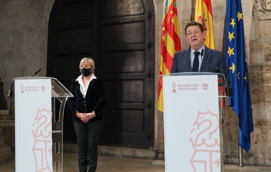 Verlenging regionale lockdown en corona-maatregelen feestdagen Valencia regio