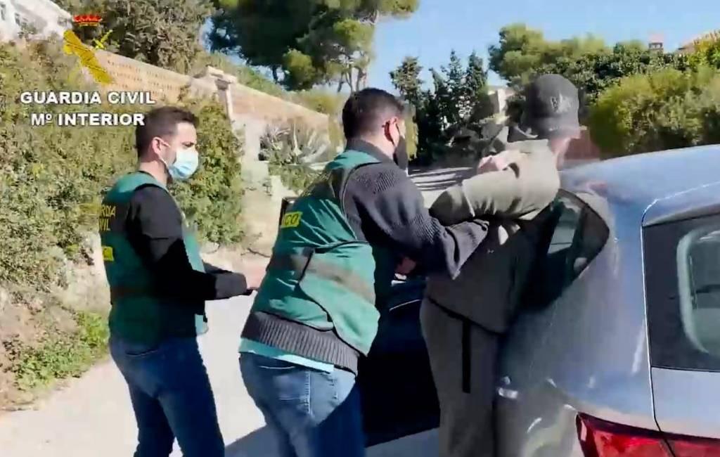 Spaanse politie arresteert door België gezochte crimineel aan de Costa Tropical