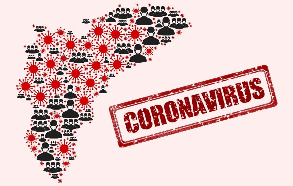 Helft van de gemeenten in Alicante provincie heeft extreem besmettingsgevaar