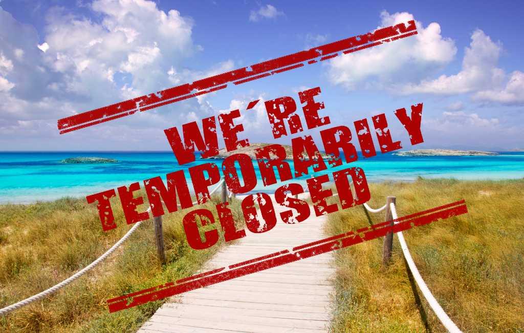 Balearen eiland Formentera heeft een eiland-lockdown gekregen