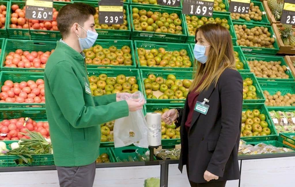 Plastic tasjes tijdperk bij de Mercadona definitief voorbij