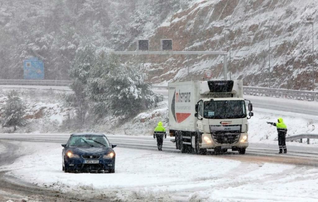 Hevigste sneeuwval van afgelopen 10 jaar in Catalonië