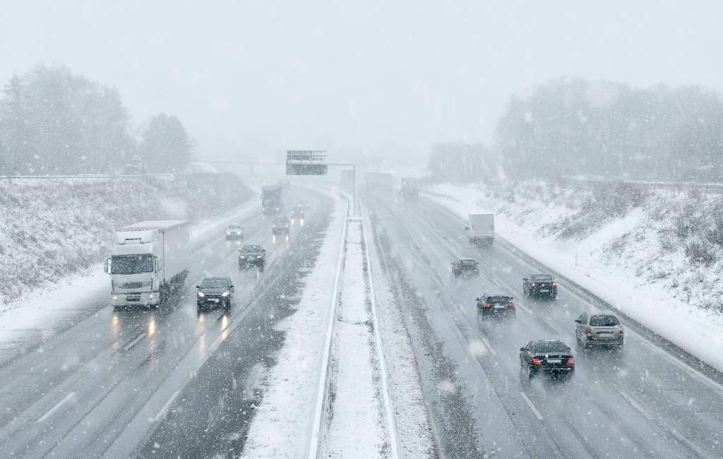 Website van verkeersdienst DGT om de staat van de wegen te bekijken in Spanje
