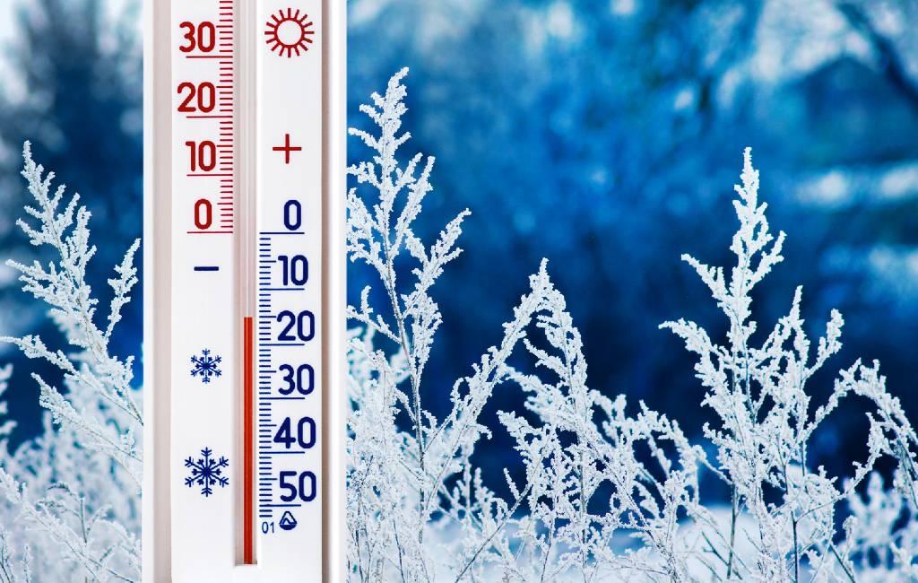Extreem koud in Spanje met temperaturen tussen de -25 en -29,9 graden