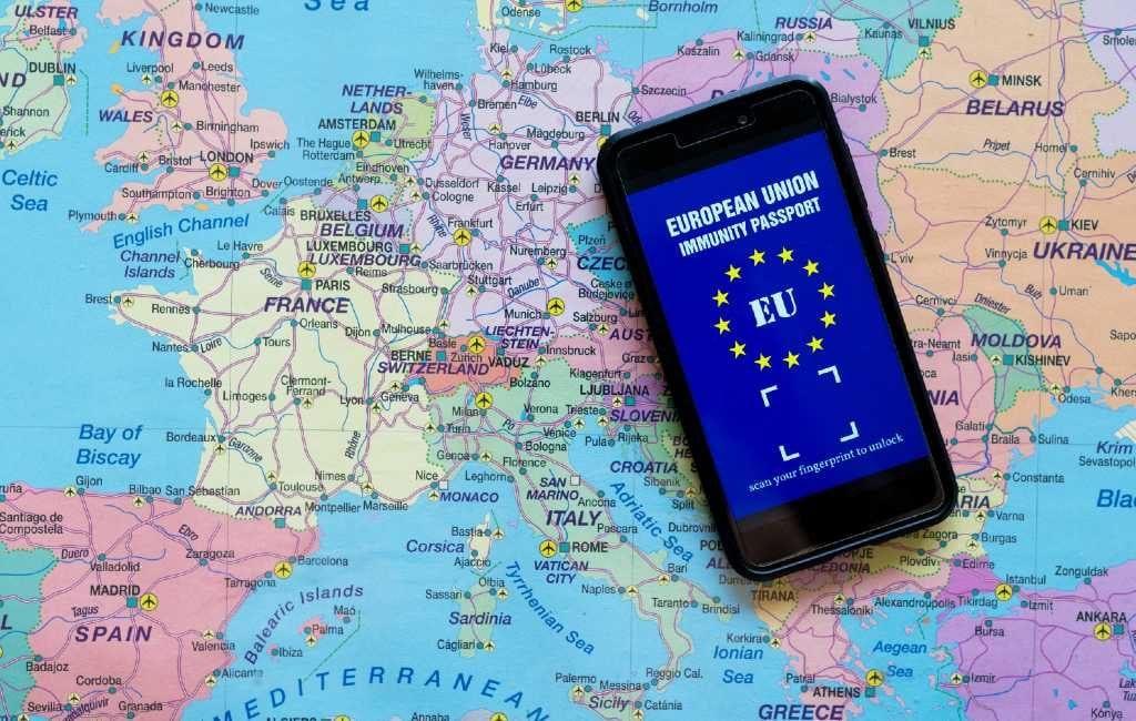 Spanje vraagt opnieuw om een Europees vaccinatiepaspoort of certificaat