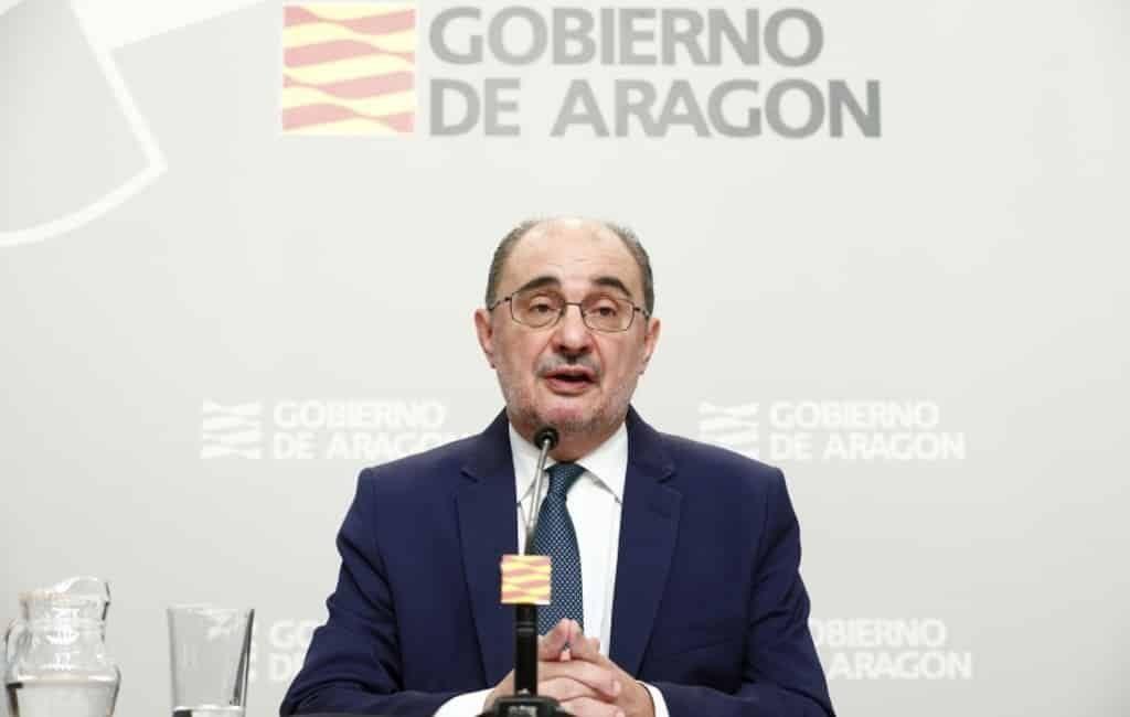 Regio premier van Aragón maakt bekend dat hij darmkanker heeft
