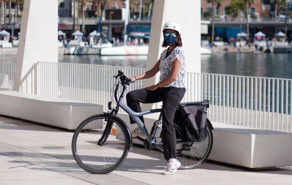 Málaga lijkt een hekel aan fietsen te hebben