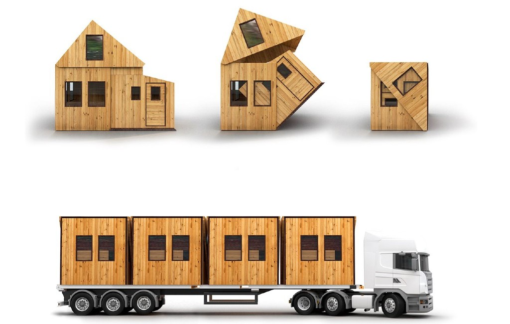 Heb je een stukje grond in Spanje? Denk dan eens na over dit vouwbaar huisje!