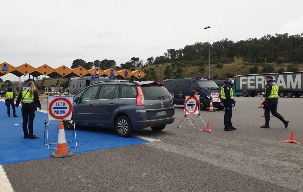 31 personen bij de Junquera grens met Frankrijk gearresteerd vanwege valse PCR-test uitslagen