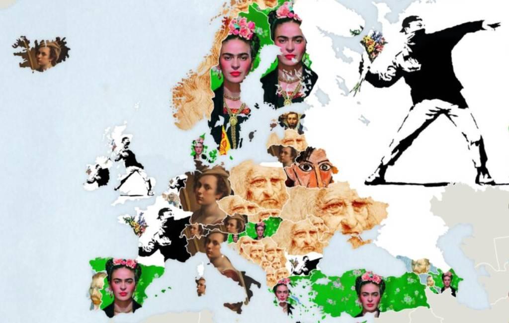 Wat is de meest gezochte artiest ter wereld, in Europa en in Spanje?