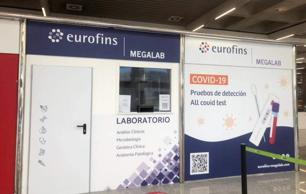 Op corona testen bij 15 vliegvelden is vanaf nu mogelijk in Spanje