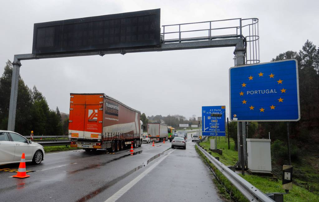 Grenscontroles Spanje-Portugal voor derde keer verlengd tot 6 april