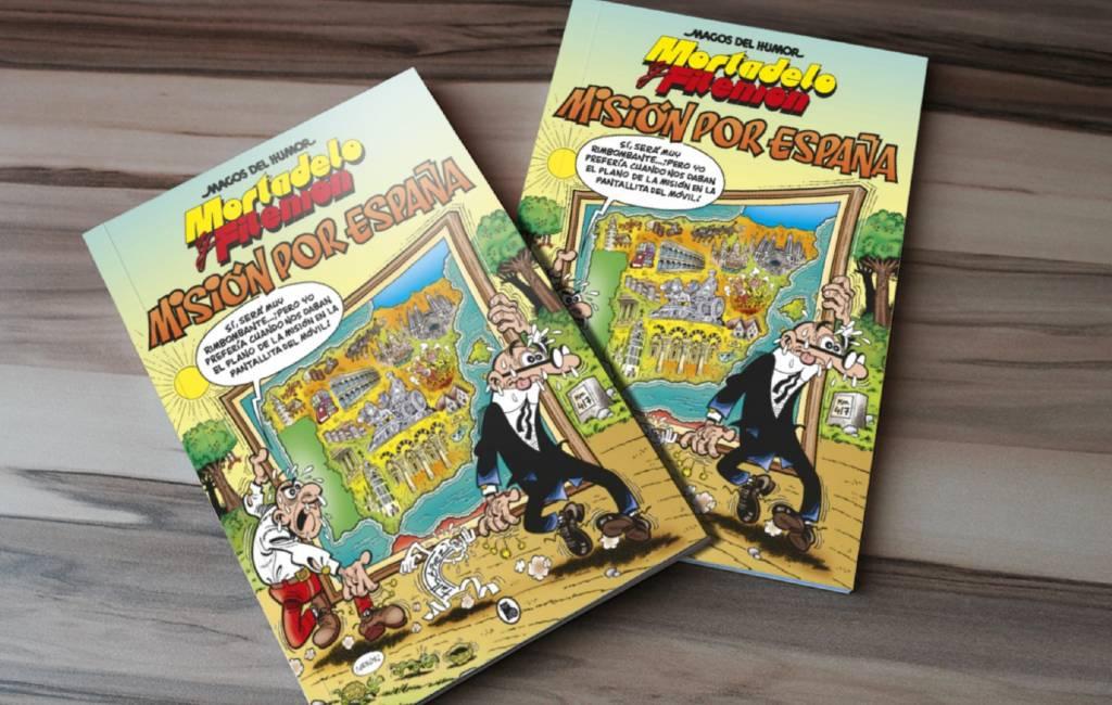 Nieuw Spaans avontuur van Paling & Ko in stripalbum 'Misión por España'