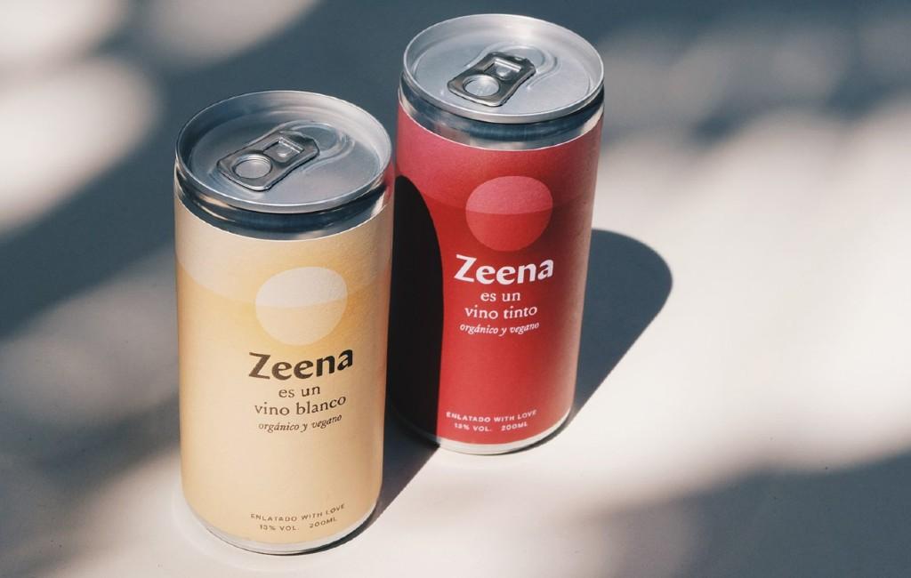 Spaanse startup Zeena komt met rode en witte organische wijn uit een blikje