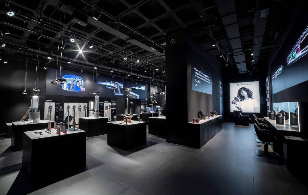 Dyson opent eerste fysieke winkel van Spanje in winkelcentrum Barcelona