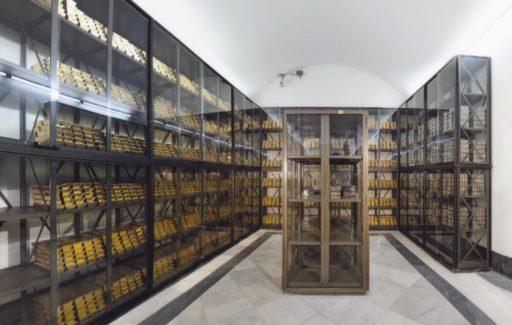 De Spaanse Bank heeft 9 miljoen ounces goud ter waarde van 14 miljard euro