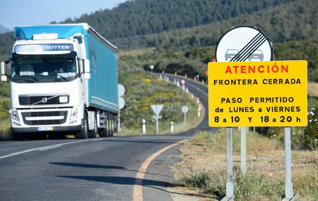 Grenscontroles Spanje en Portugal voor vijfde keer verlengd tot 30 april