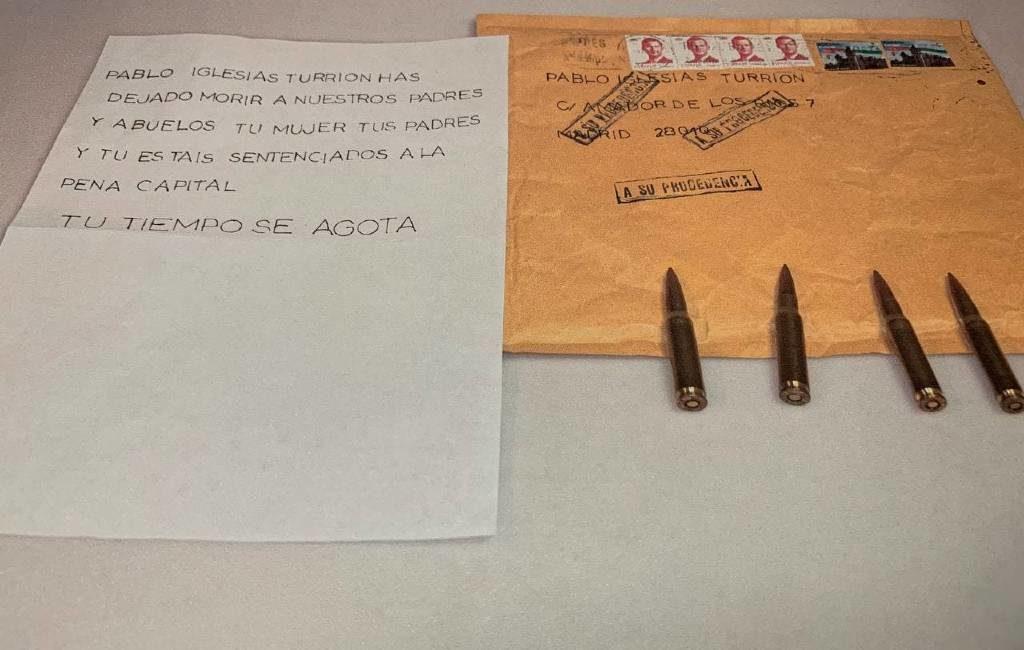 Opnieuw enveloppen met kogels gevonden voor regionale premier Madrid en voormalige premier Spanje