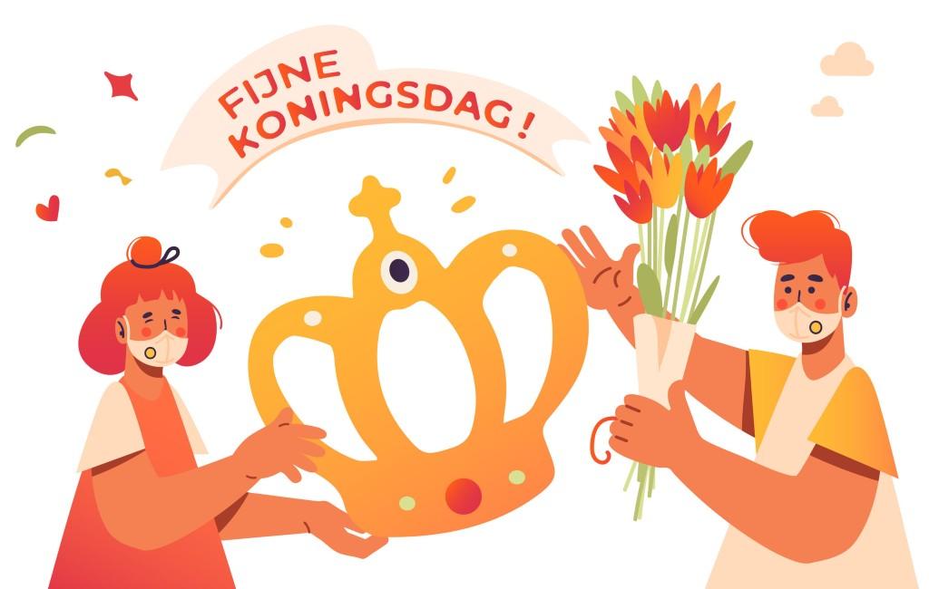 Koningsdag kan in Spanje wel gevierd worden op een terras maar toch anders (2021)