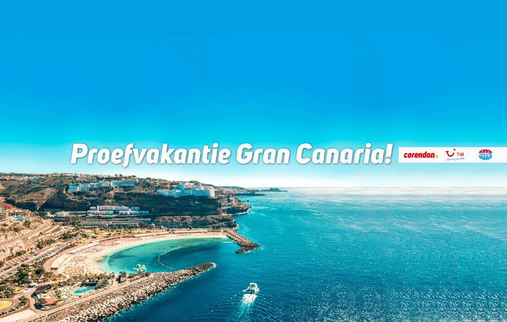 Corendon, TUI en kabinet organiseren tweede proefreis naar Gran Canaria
