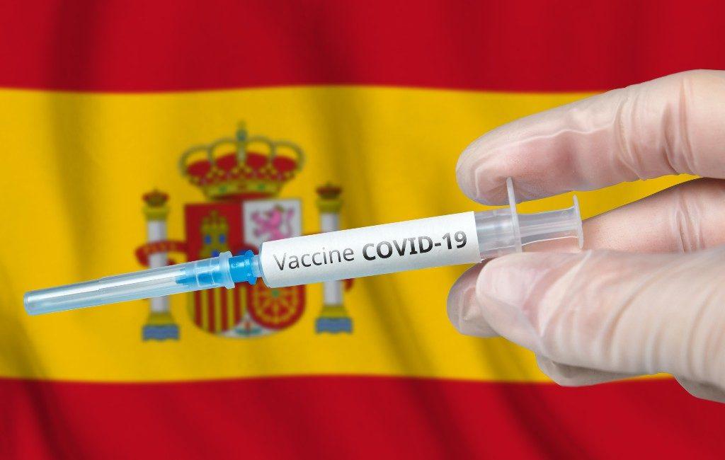 13 miljoen inwoners van Spanje geprikt tegen Covid-19 waarvan 3,5 miljoen gevaccineerd