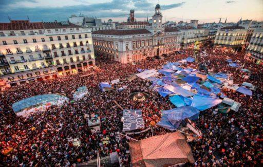 Spanje denkt terug aan de 15-M beweging van tien jaar geleden in mei 2011