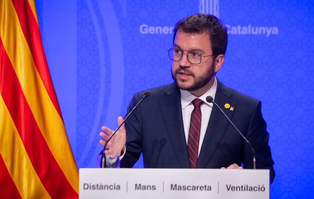Pere Aragonés gekozen tot nieuwe regiopremier Catalonië