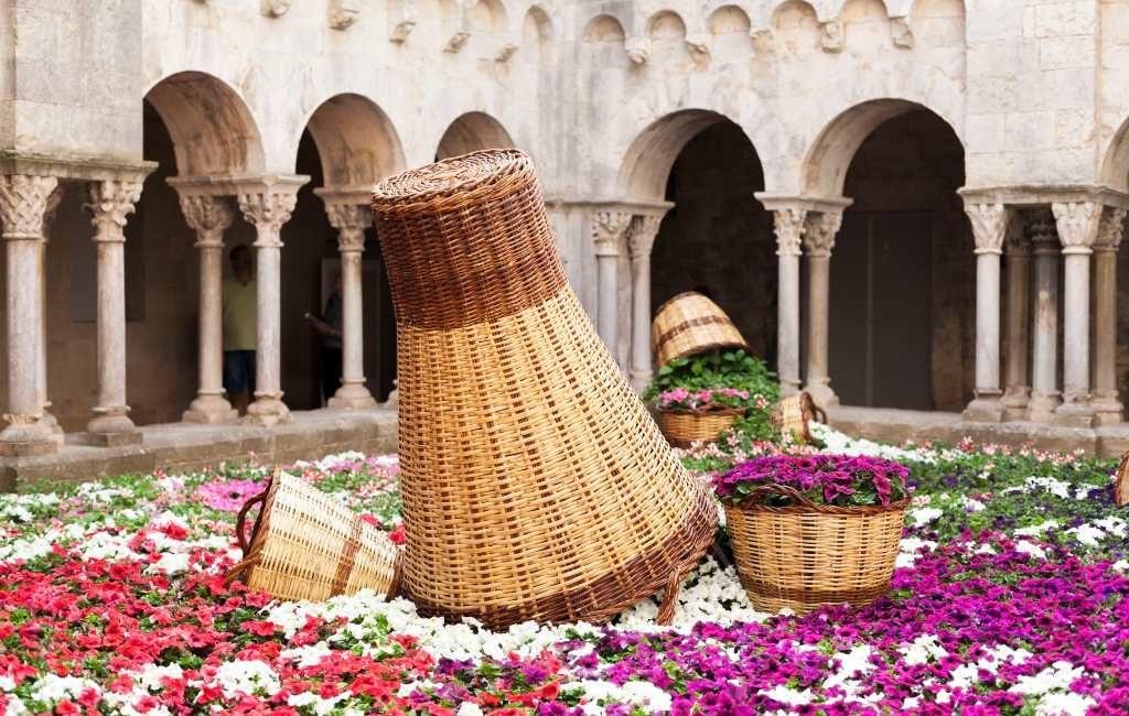 Bloemenfeest 'Temps de Flors' in Gerona gaat dit jaar wel door